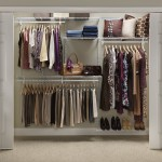 ClosetMaid-Adjustable Closet Organizer-5 Feet to 8 Feet-White Color-Review