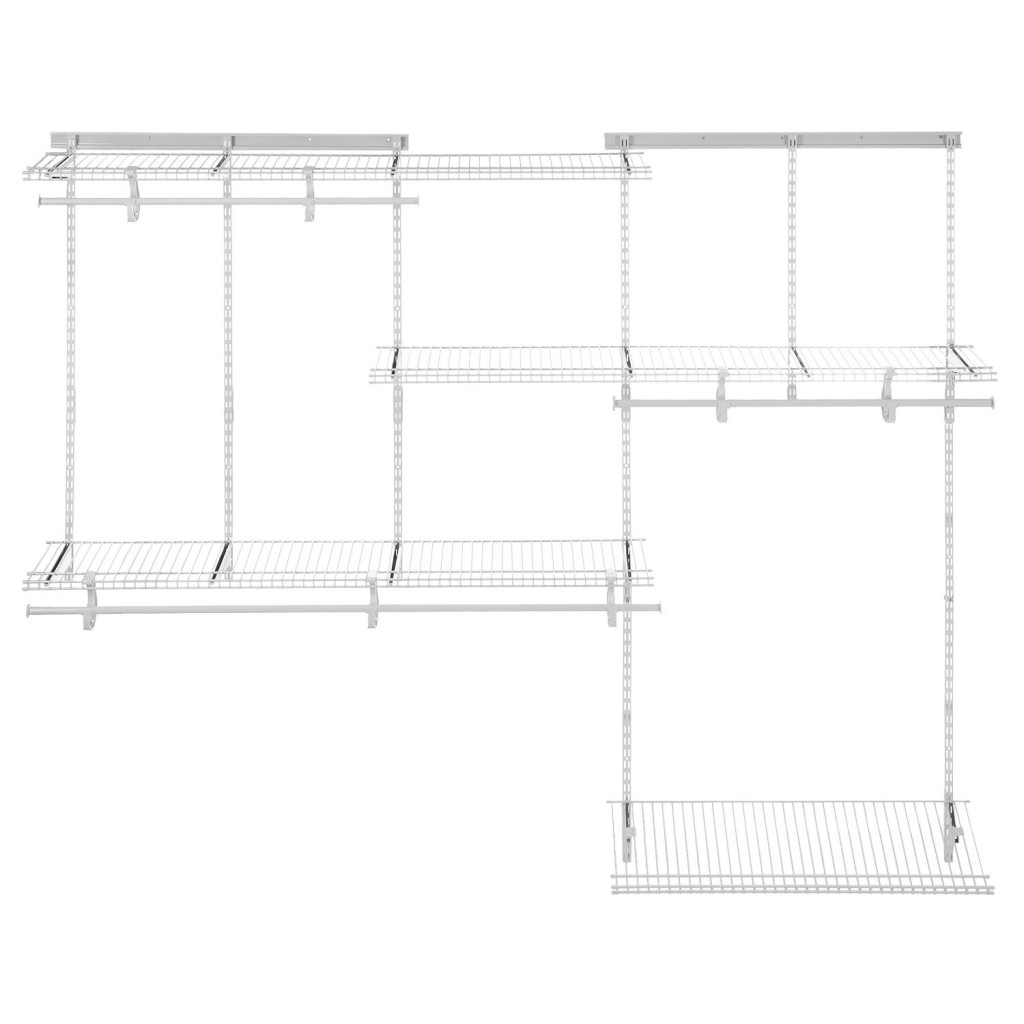 5 to 8 feet adjustable closet organizer