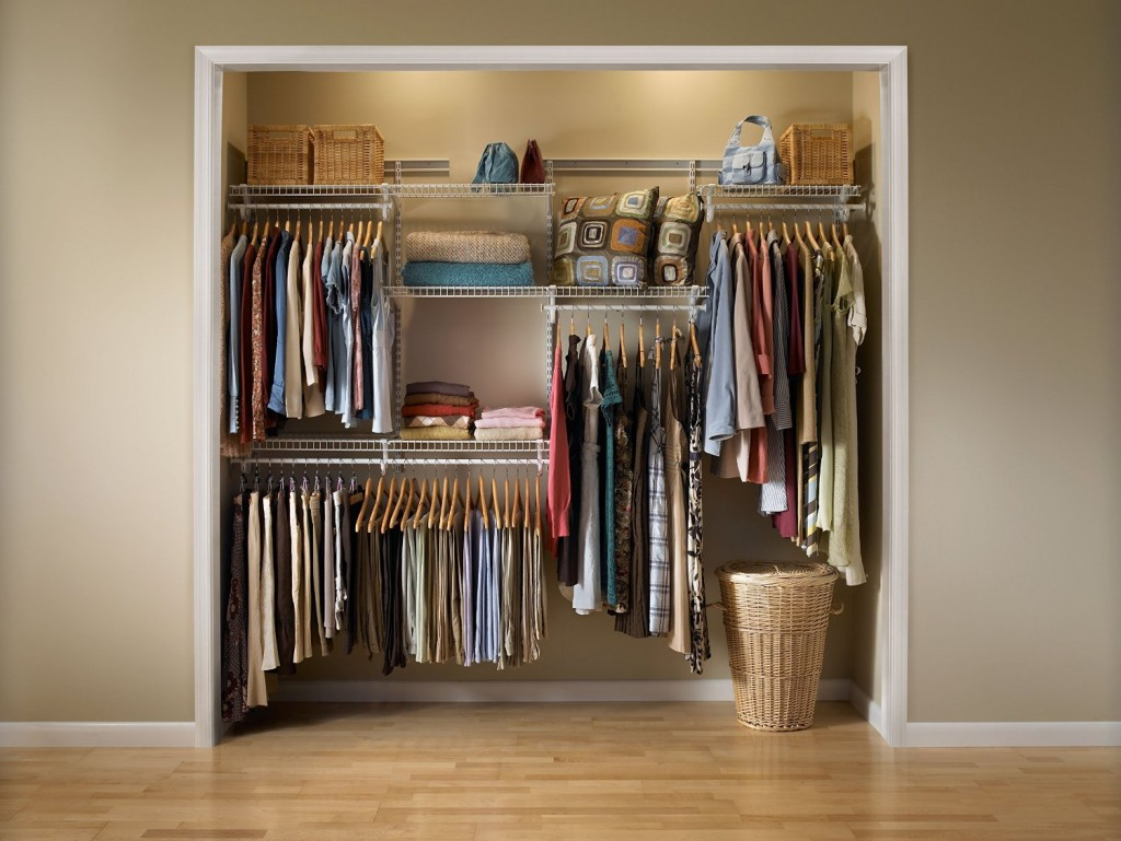 Closet Organization System 5 Feet To 8 Feet White Color