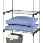 Whitmor-4 Tier Closet Organization Shelving Unit-with Wire Shelves and Metal Frame