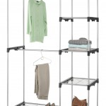 Whitmor Double Rod Closet Organizer-Cloth and Sweater Hanging Shelf-Review