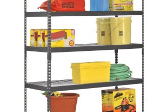 Extra Strong Heavy Duty Steel Shelving Unit Review