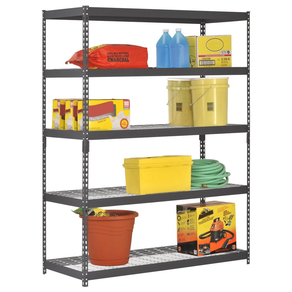 extra strong heavy duty steel shelving unit review - Edsal