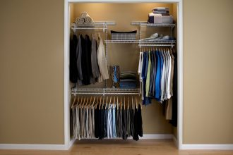 Mini Adjustable Closet Organizer