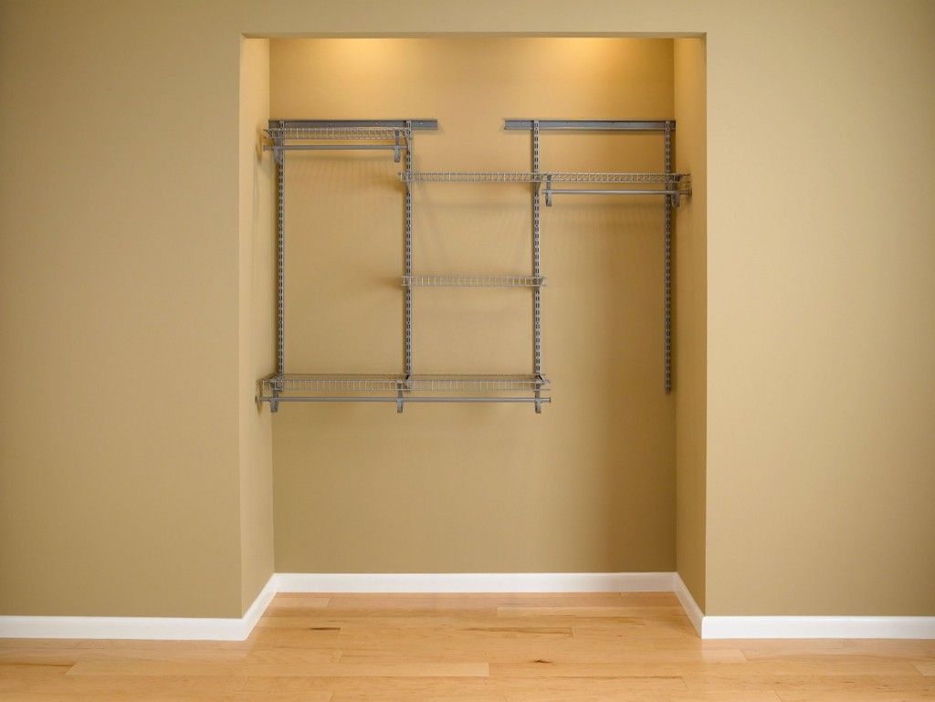 Satin Chrome Mini Closet Organizer