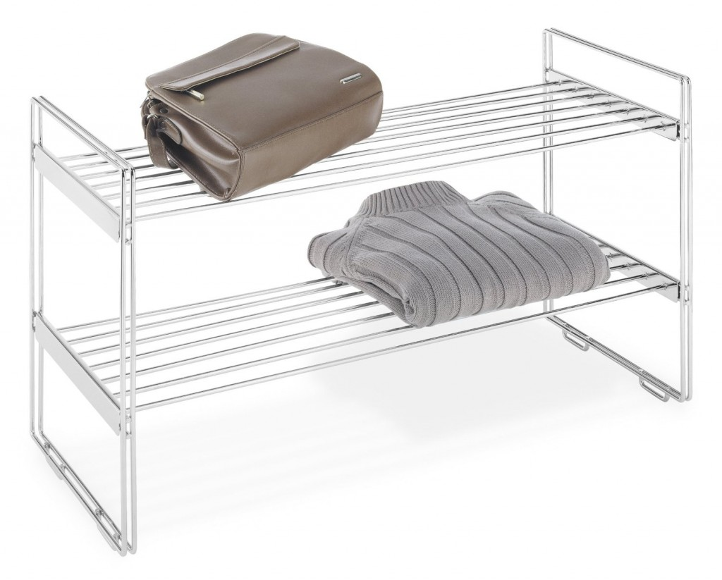 Whitmor Stackable closet shelves