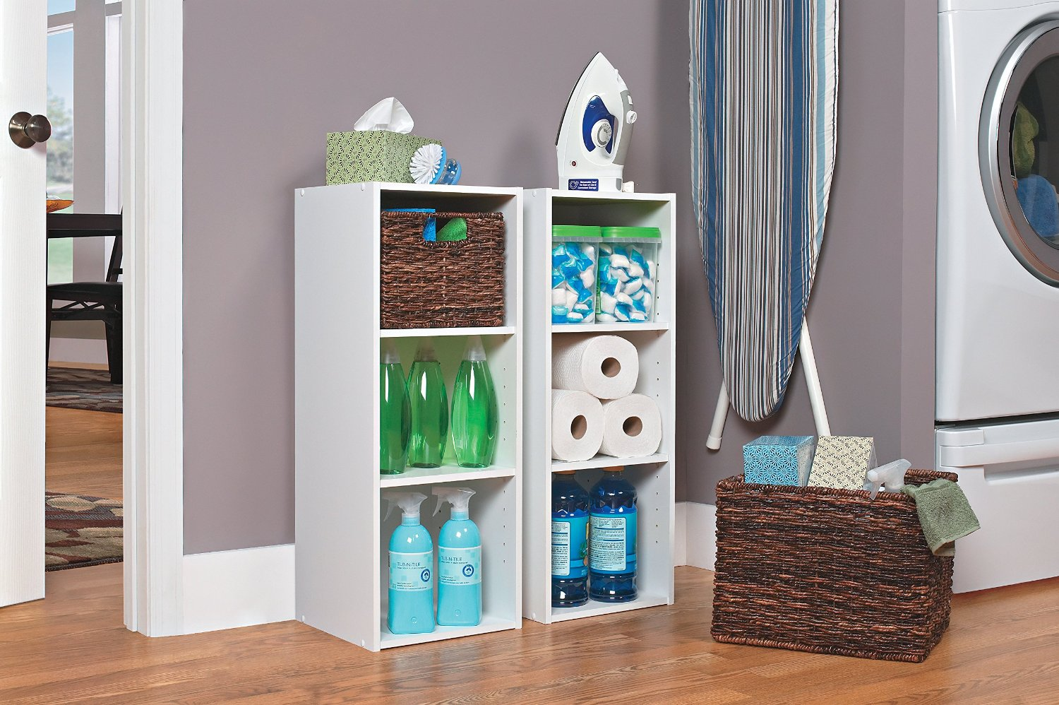 shelf box organizer closet basket items storage of foldable cube set hanging shelves