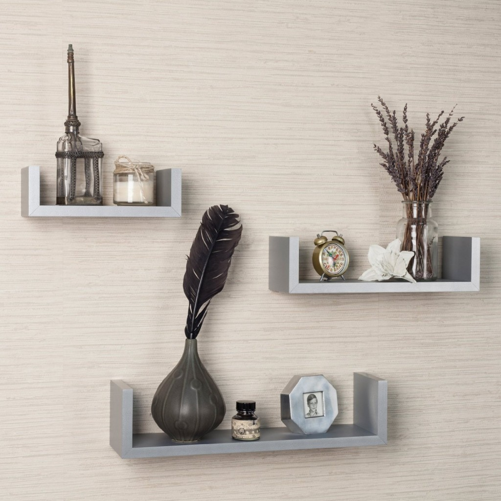 white wall shelves 3