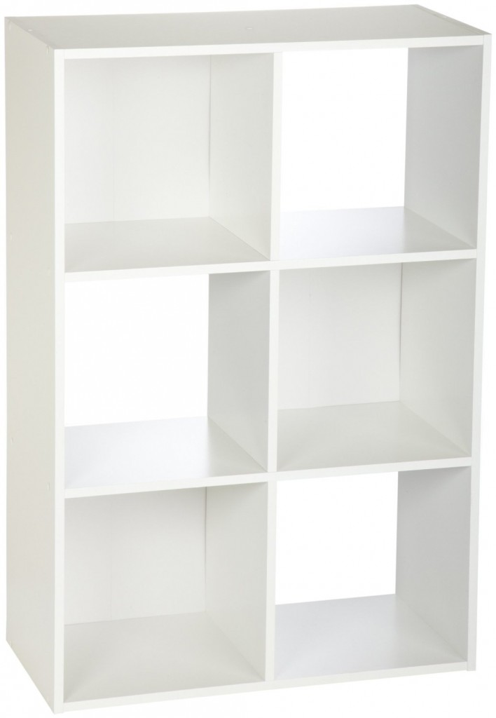 closetmaid cubeicals 6 cube organizer white
