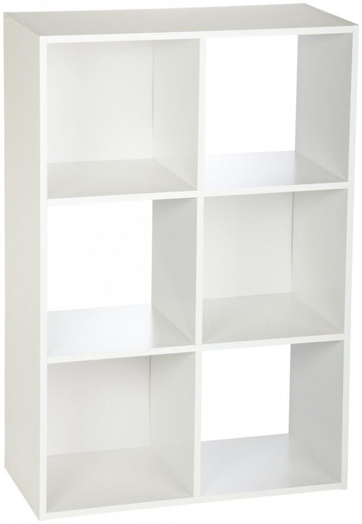 Good Closetmaid Cubeicals 6 Cube Organizer White