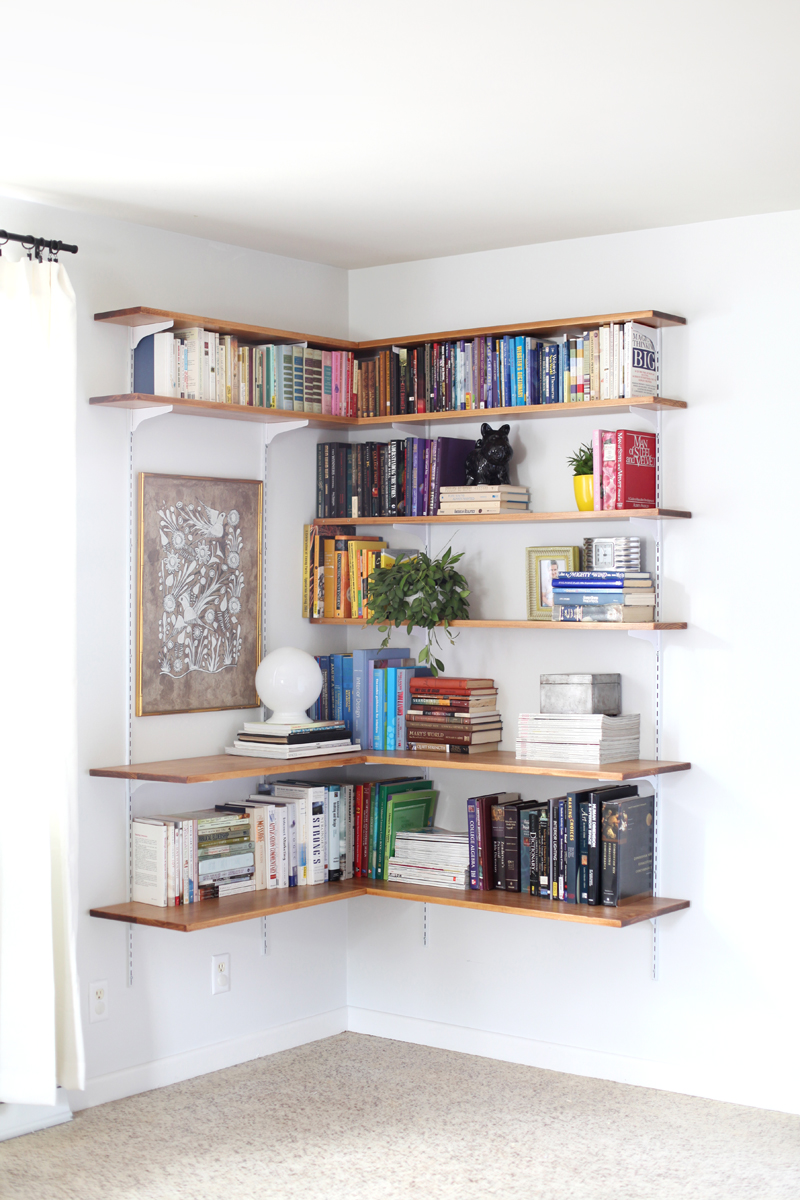 Long Floating Wall Shelf