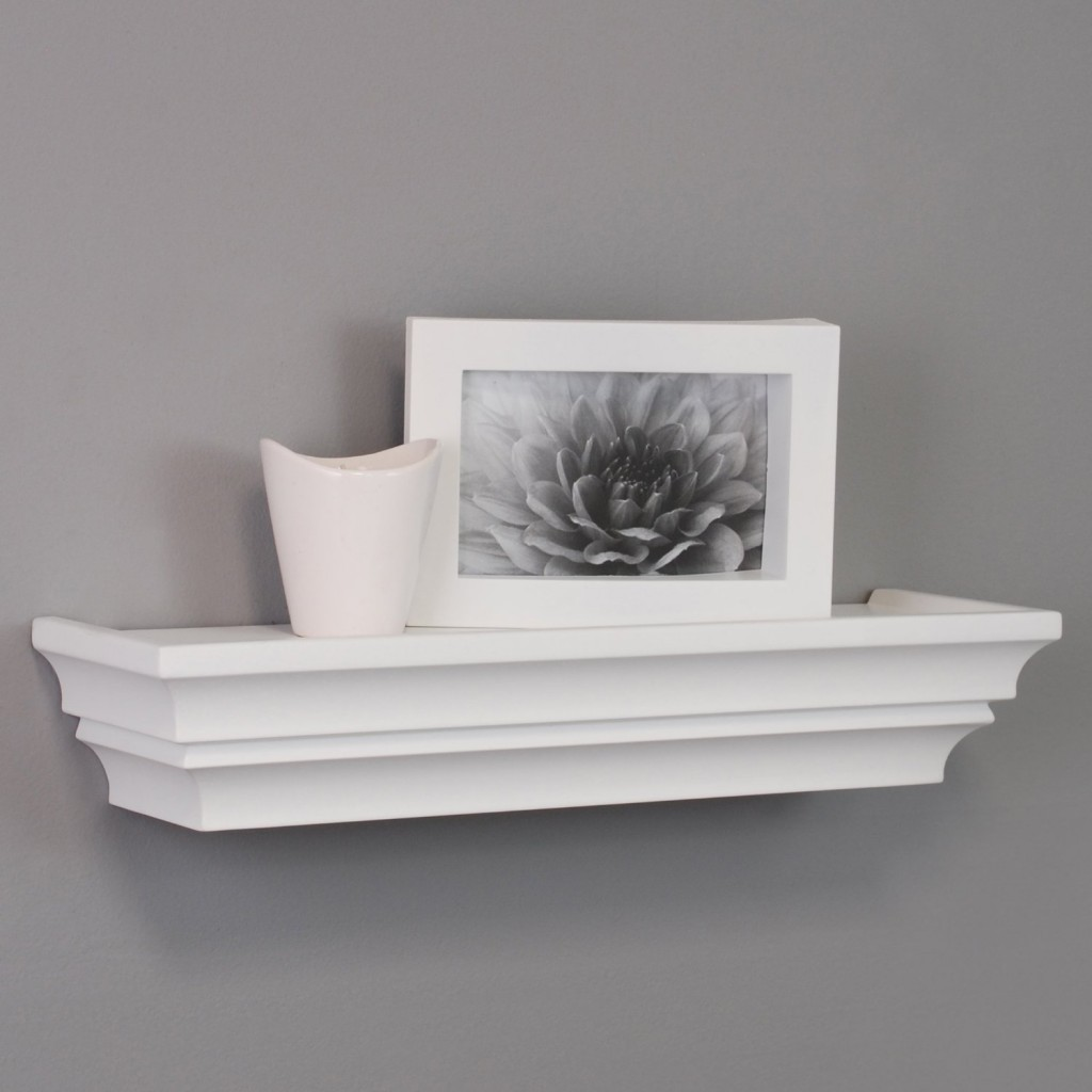 Top 20 White Floating Shelves For Your Home Interiors