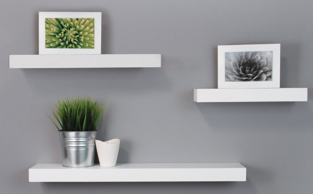Floting Shelves top 20+ white floating shelves for home interiors