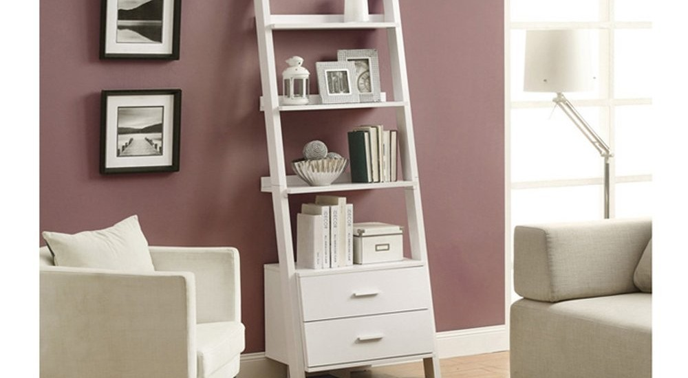 Best 22 Leaning Ladder Bookshelf And Bookcase Collection For Your Home Office