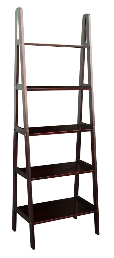 brown ladder book case photo