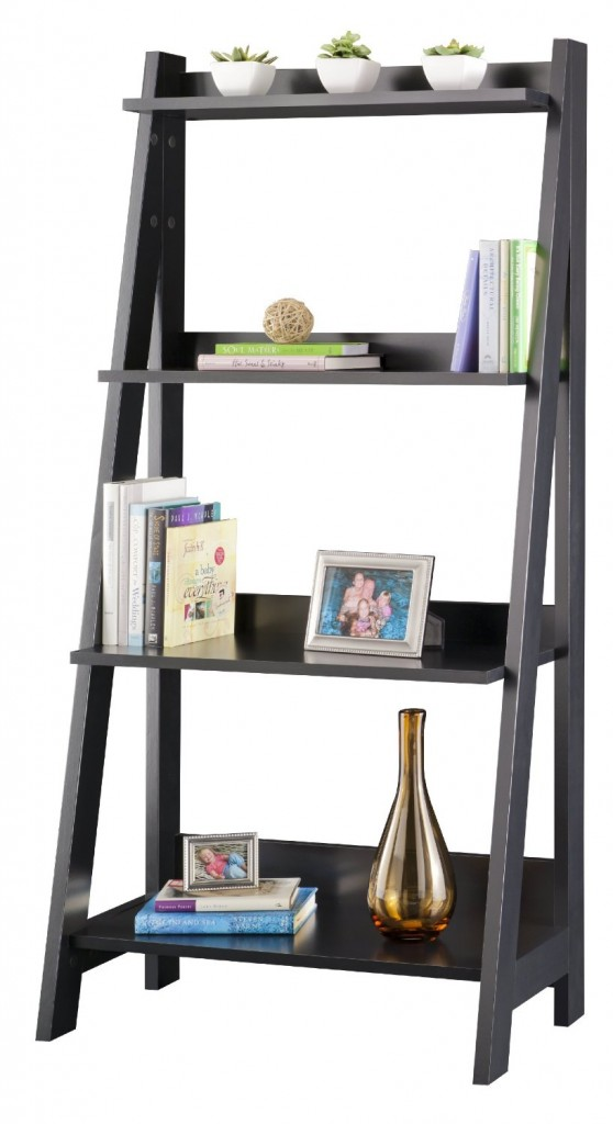 custom ladder bookcase