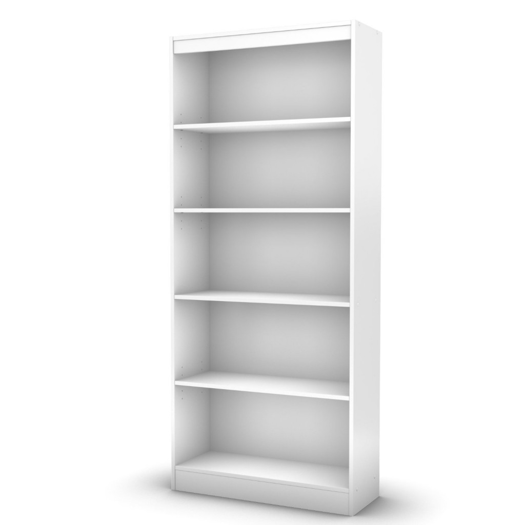 south shore 5 shelf book case