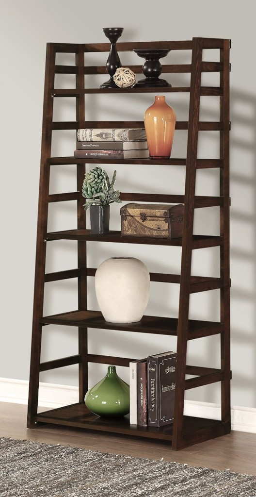 Acadian Ladder Book Case