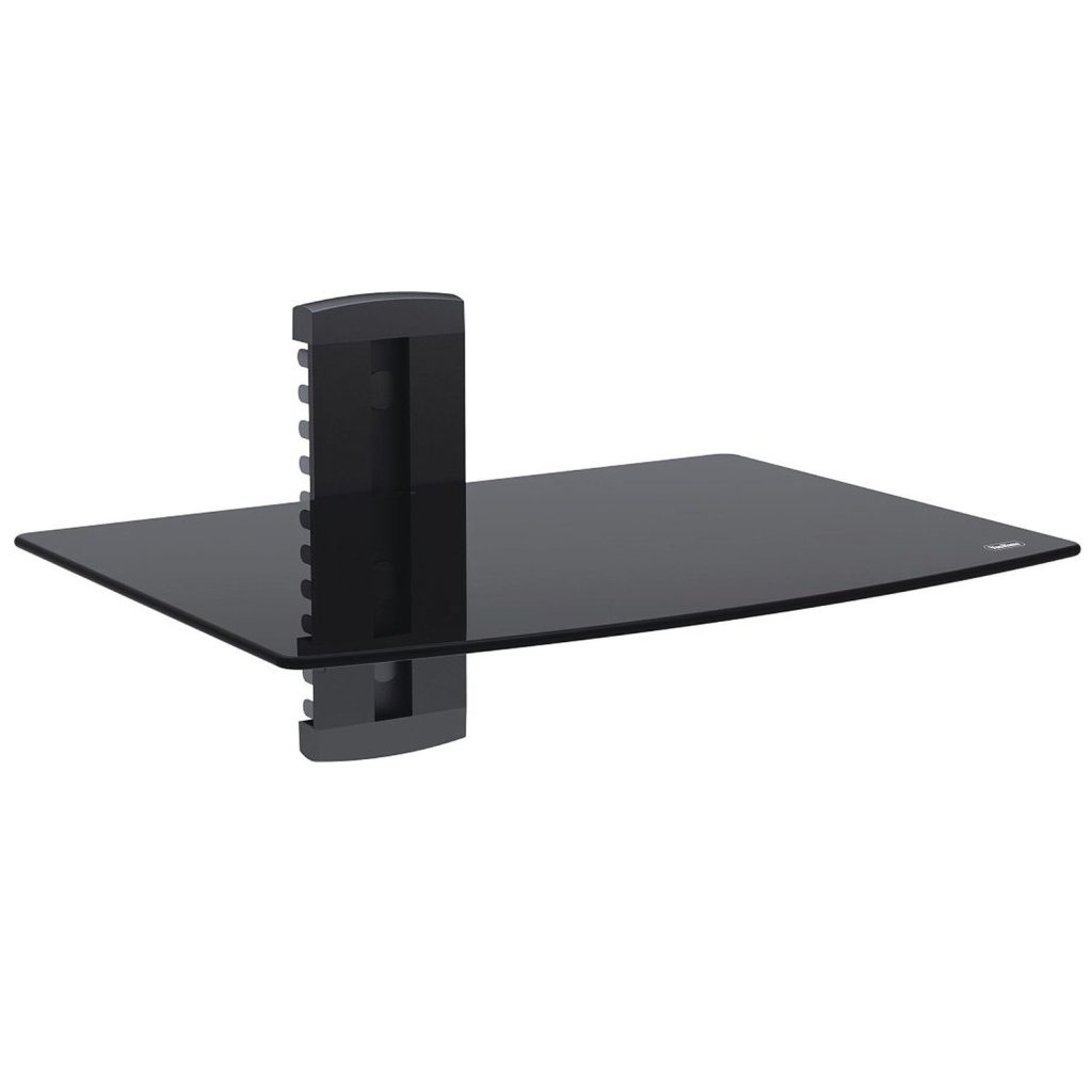 small wall shelves black tv shelf