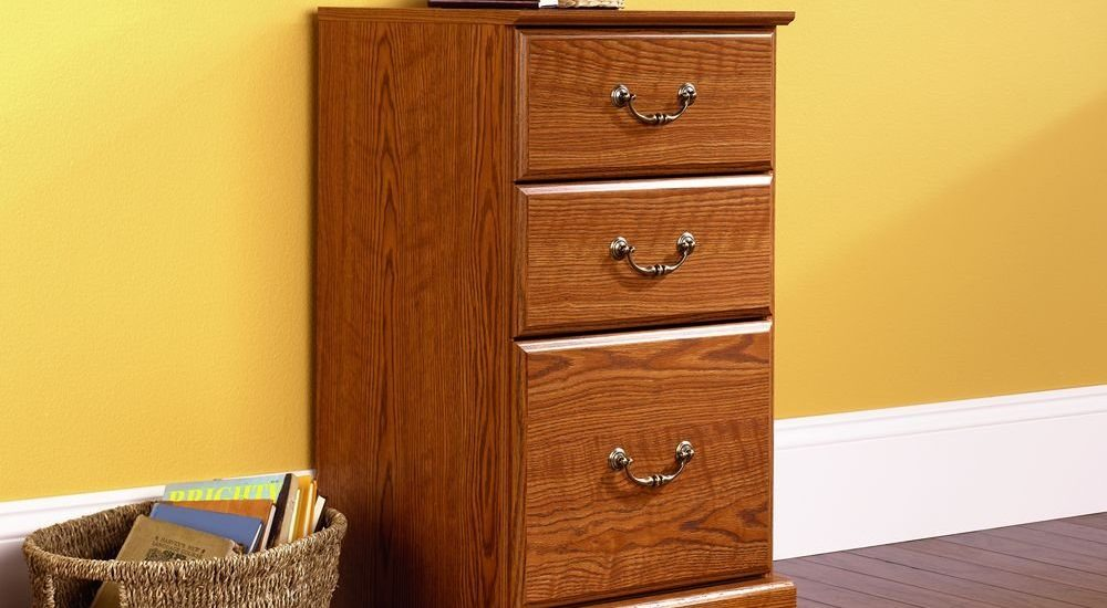 executive cabinet cabinets drawer wooden filing