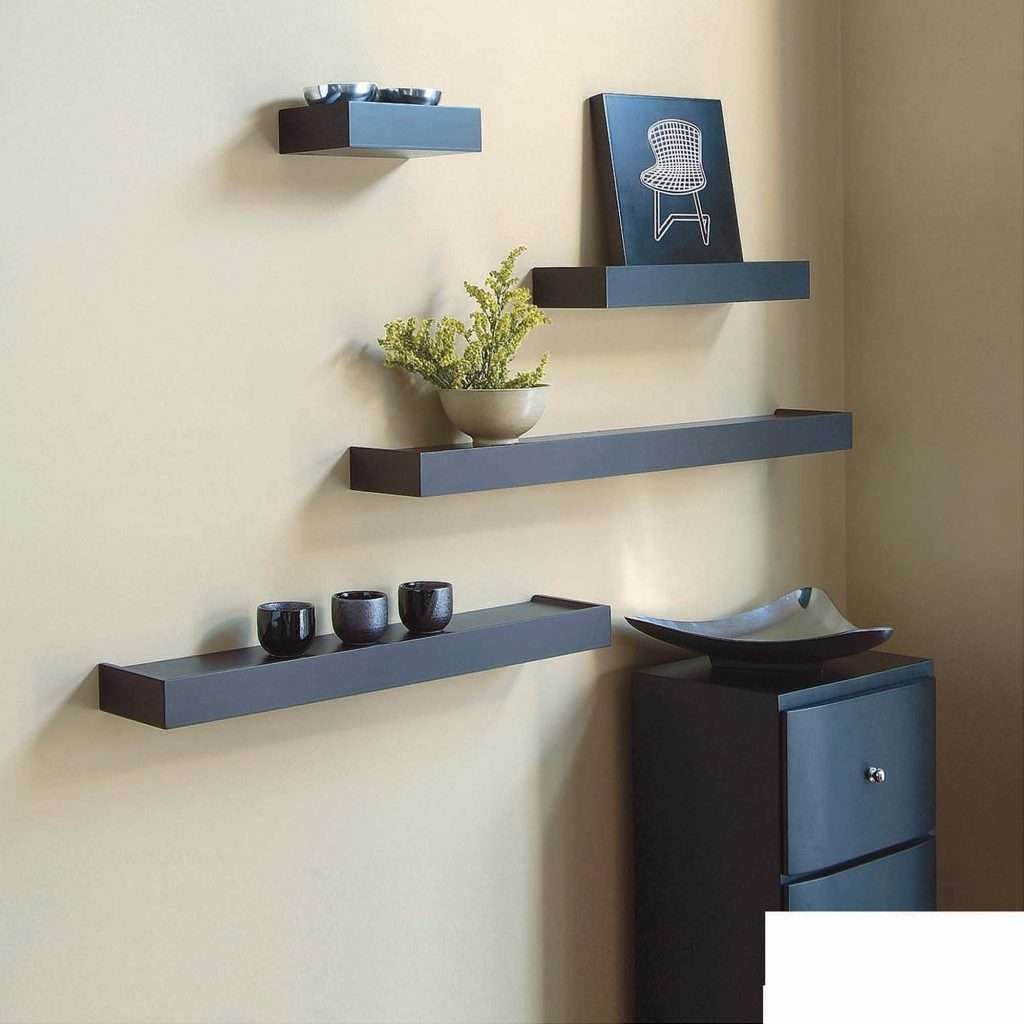 wall floating shelves