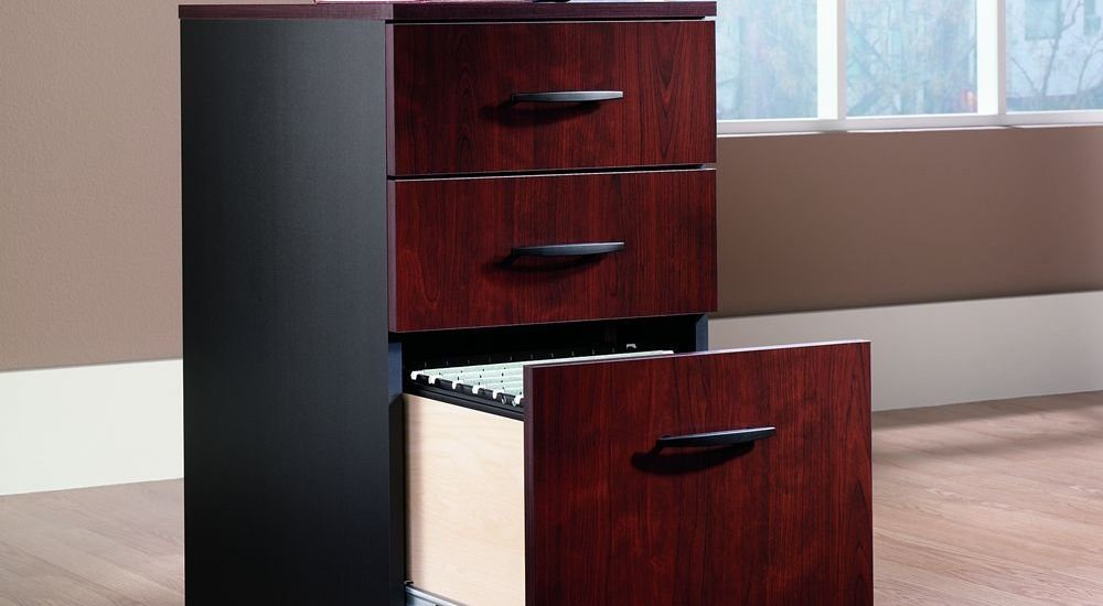 Top  Wooden File Cabinets with Drawers