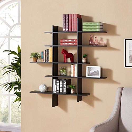 5 Level - Assymetric Wall Shelf