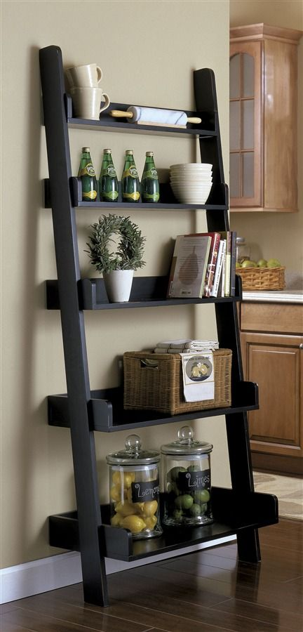 Best Laundry Room Ideas: 8 DIY Ladder Shelf Decorating Ideas To Style Your Home Decor