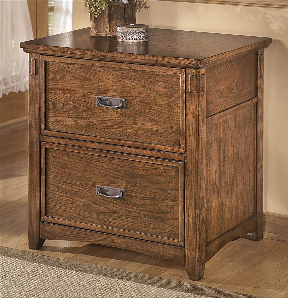 decorative-file-cabinet-brown