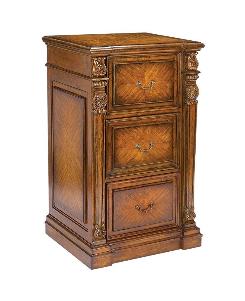 Decorative filing cabinet mango wood