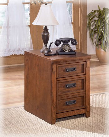 Mobile Decorative File Cabinet