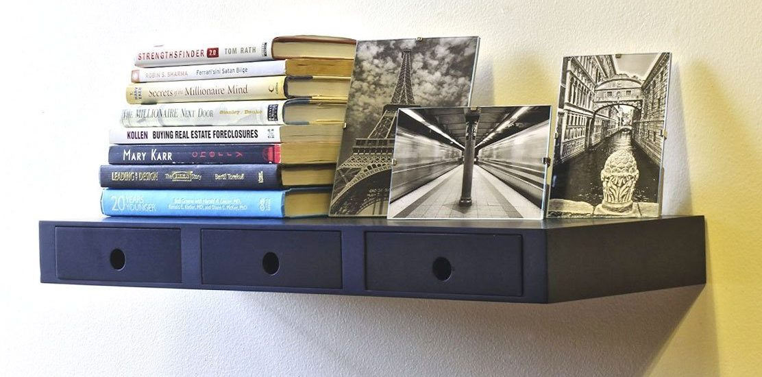 10 Amazing Floating Shelf With Drawers To Make Your Home