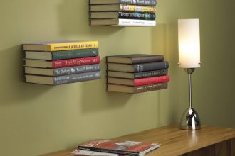 invisible bookshelf umbra