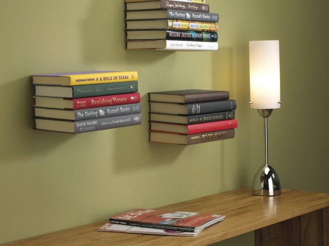 invisible bookshelf umbra