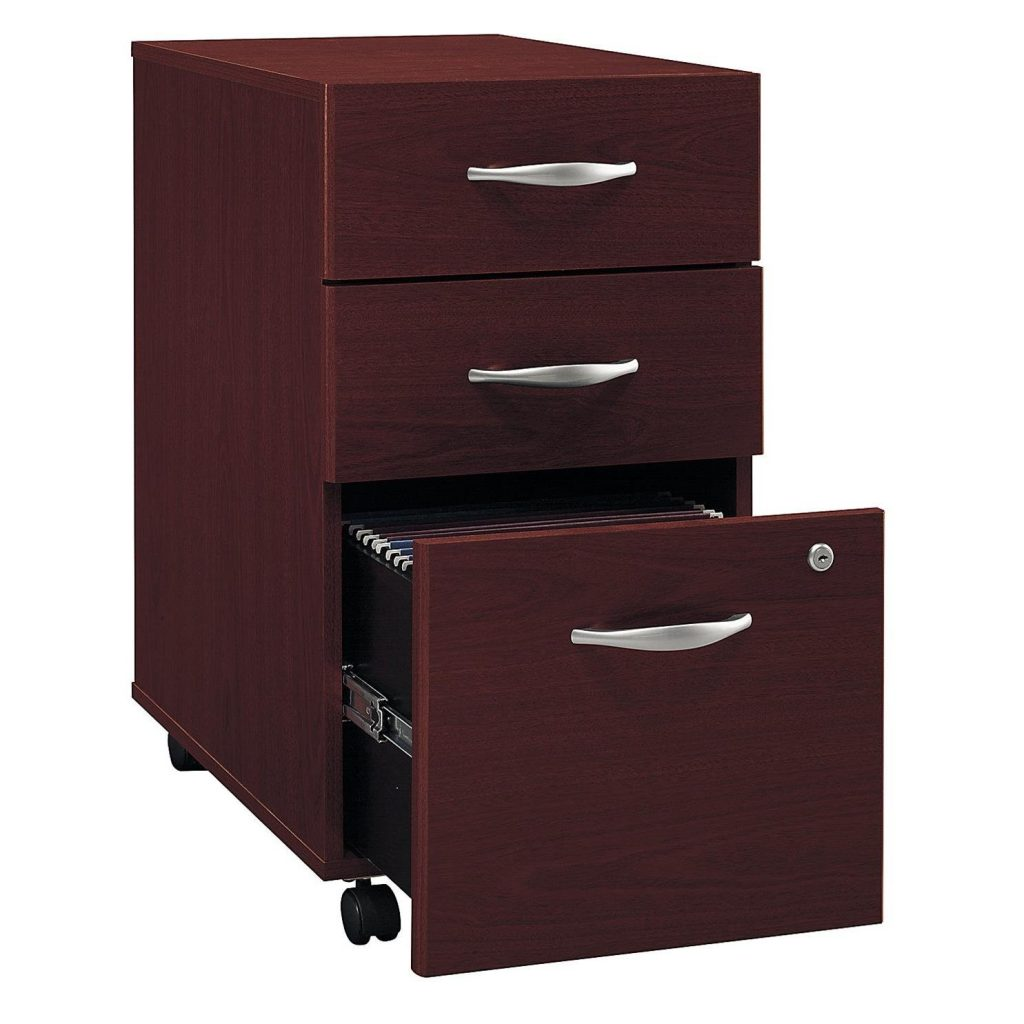 rolling file cabinet with 3 drawer