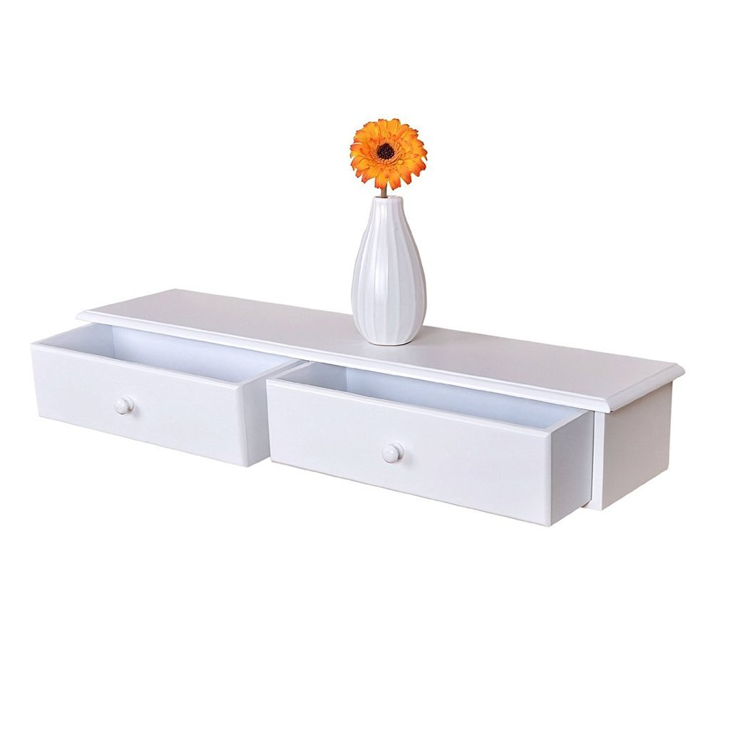 ... Amazing Floating Shelves With Drawers That Make Your Home Fascinating
