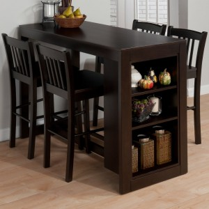 4 Seater Dining Table with 3 Shelves.