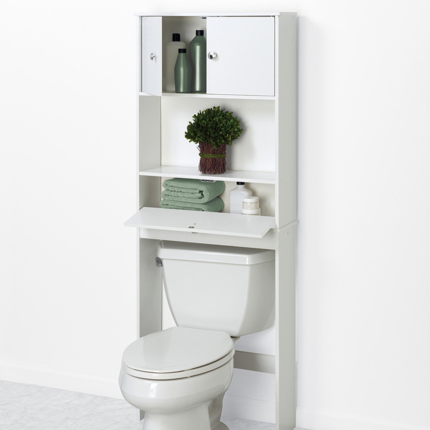 Brilliant Vosgesparis Spacesaving Bathroom Solutions With Shelves