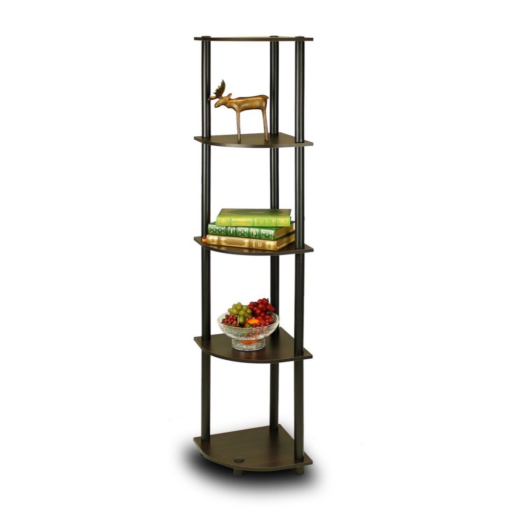 Cheap 5 Tier Corner Ladder Shelf