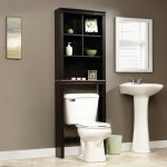 Cinnamon Cherry Finish - over the toilet bath cabinet