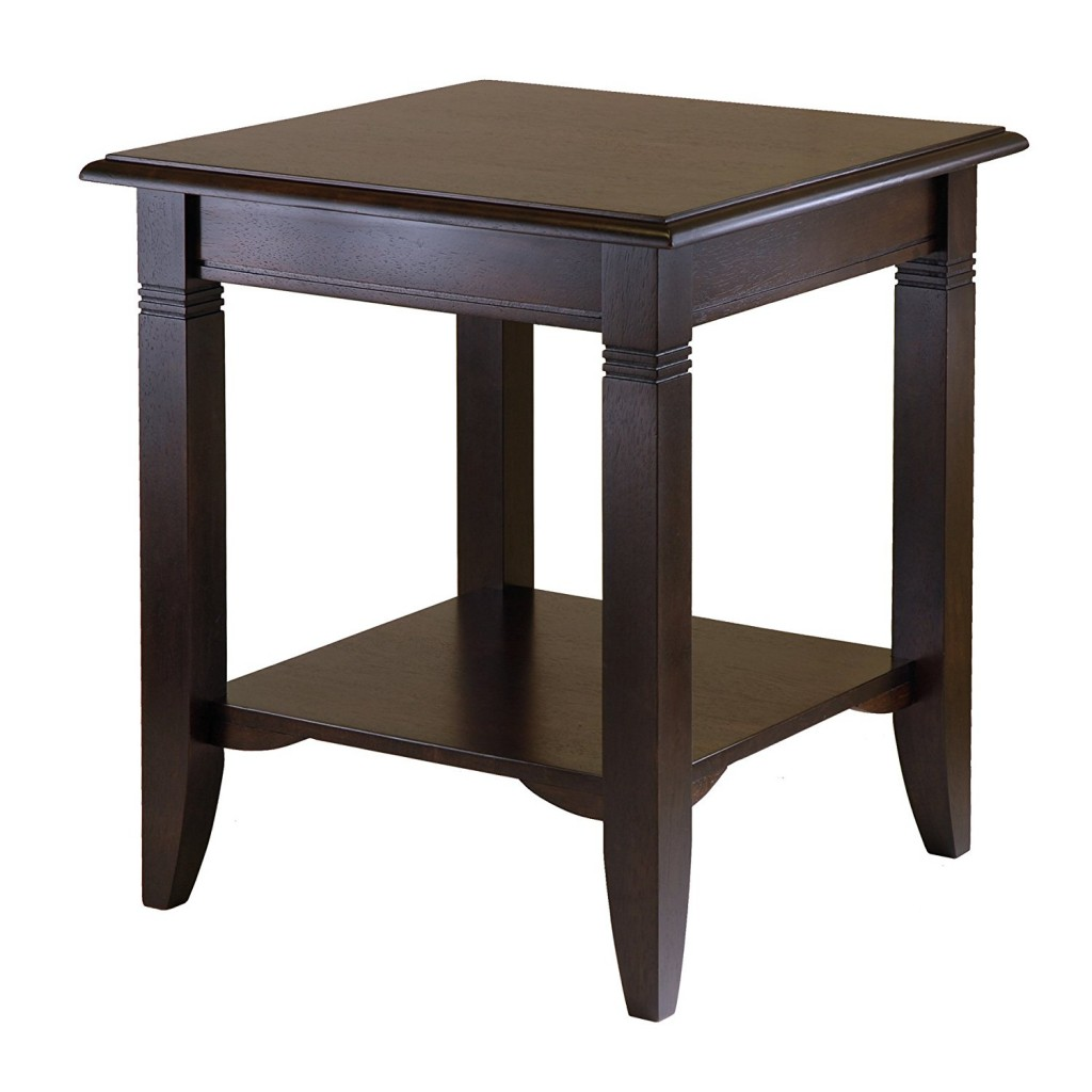 Classic Nolan end Table with shelf