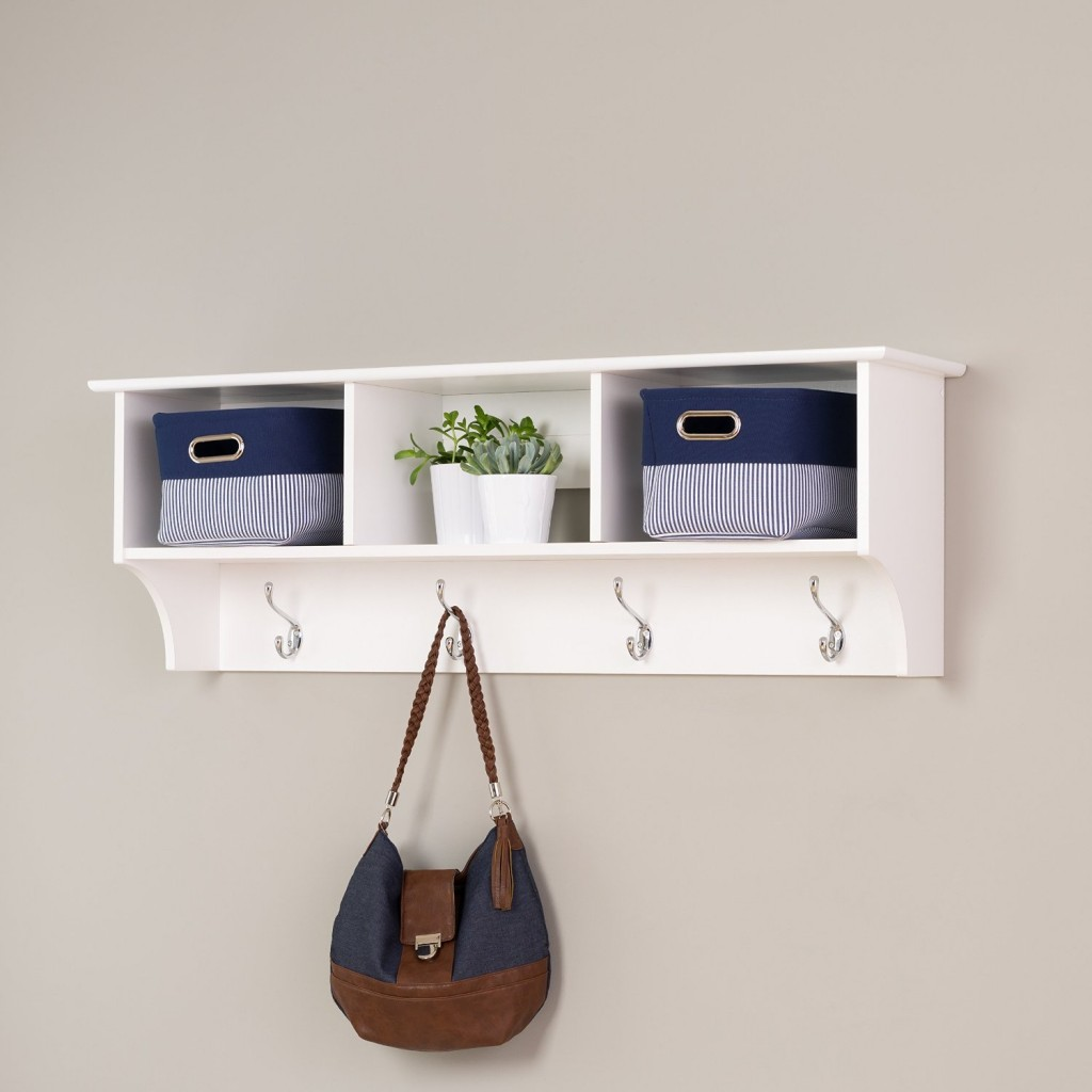 Cubbie Shelf with Towel Holder