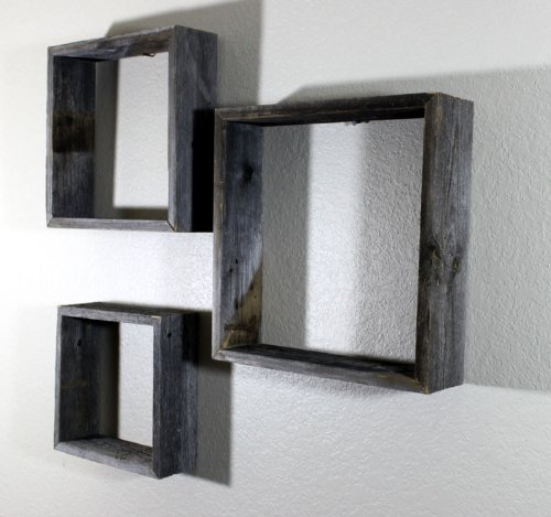 Decorative Floating Wooden Wall Shelves