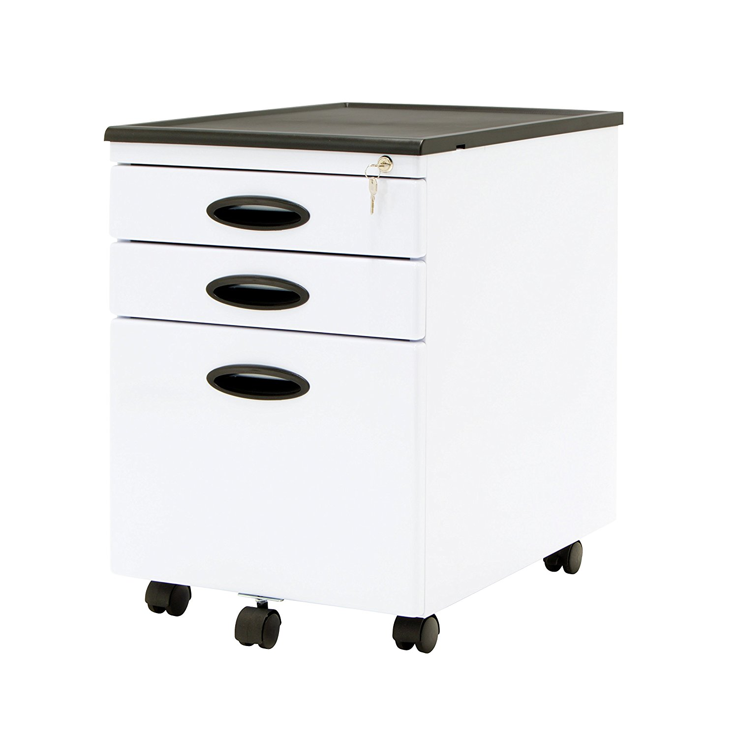 White stow 2drawer file cabinet white stow 2drawer file for Ikea metal cart with drawers