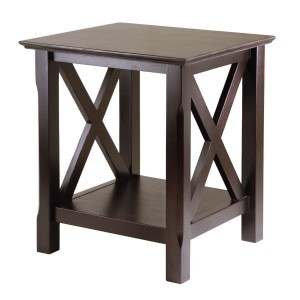 Winsome Wood End Table with Shelf underneath