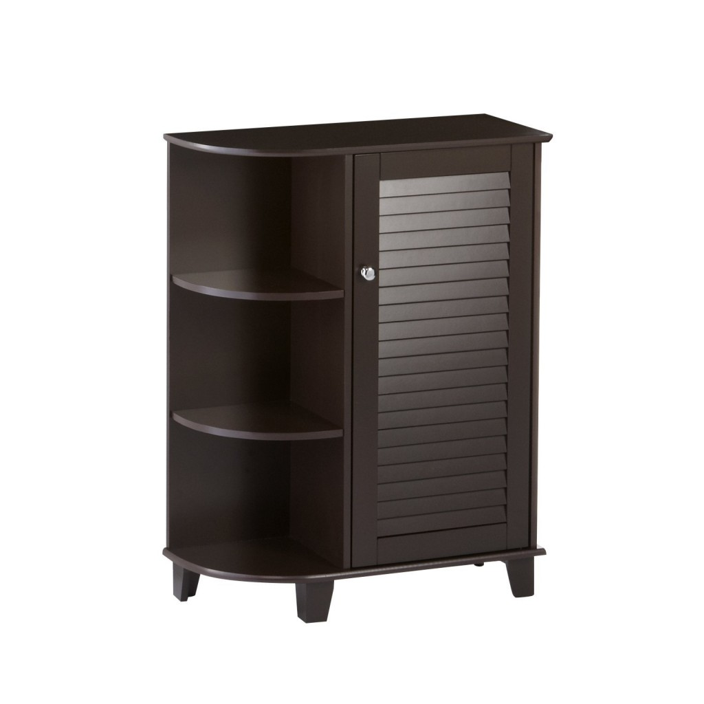 Bathroom Storage Cabinets With Doors And Shelves With