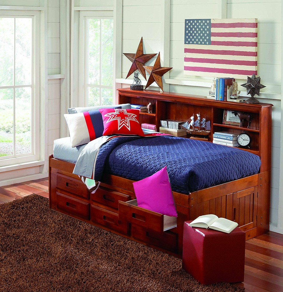 10 Best Daybed Bookcases With Storage Drawers For Your