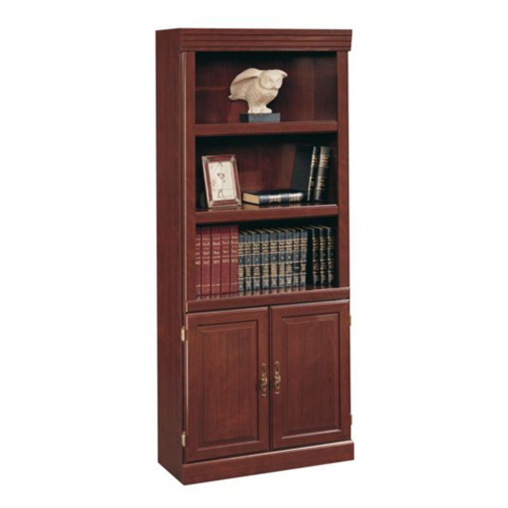 Heritage Bookcase With Glassdoor