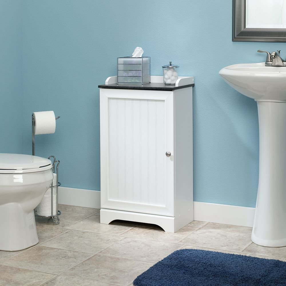 12 awesome bathroom floor cabinet with doors review for Bathroom chest