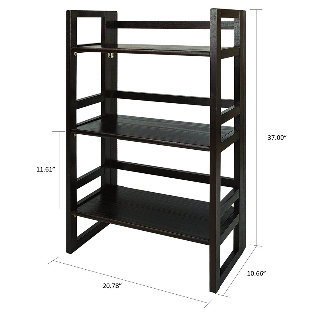 Top 13 folding bookcases and bookshelves of 2017 for Folding bookshelf